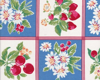 Orchard Kitchen - Apple Fabric - Strawberry Fabric - Cherry Fabric - Daisy Fabric - Lecien Fabric