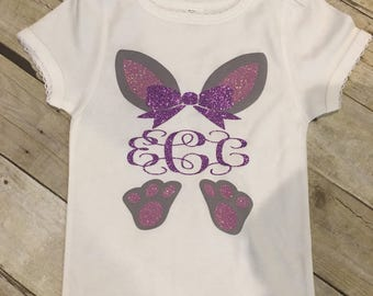 Monogram easter shirt