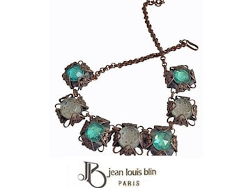 Rare Jean Louis Blin Parisian Necklace. Rare, extremely limited or one of a kind.
