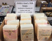 Zelda 39 s PURE Goat Milk Soap Handmade 5 oz. Egyptian Musk, Tea Tree, Anise, Patchouli, Lavender, Peppermint EO