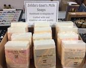 Zelda 39 s PURE Goat Milk Soap Handmade 5 oz. Egyptian Musk, Tea Tree, Anise, Patchouli, Lavender, Peppermint EO