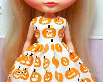 BLYTHE doll Halloween party dress - happy jacks