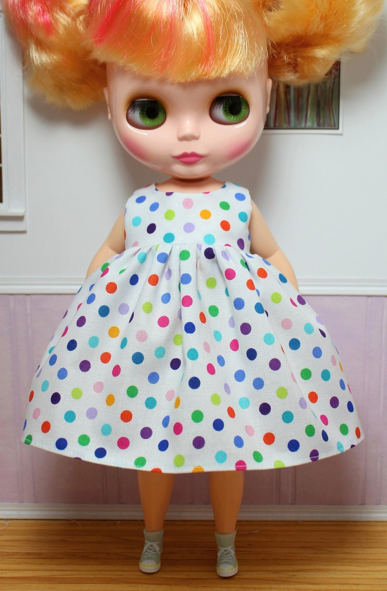 Chubby Polka Dot Dress