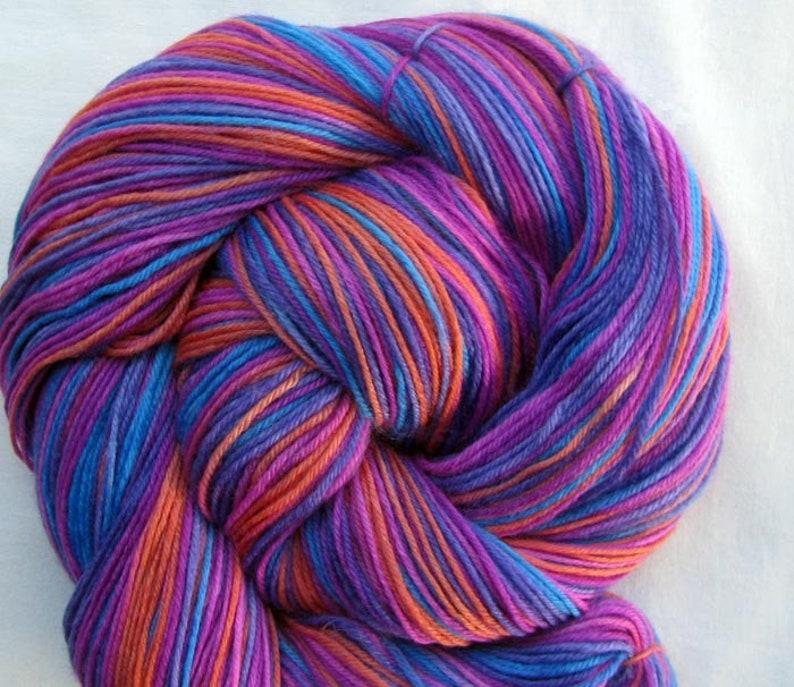 SW Merino/Cashmere Yarn Hand Painted image 0