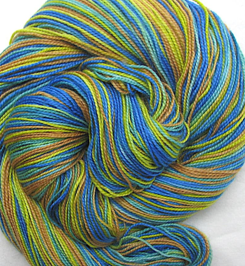 SW Merino Wool/Nylon Sock Yarn Hand Painted image 0