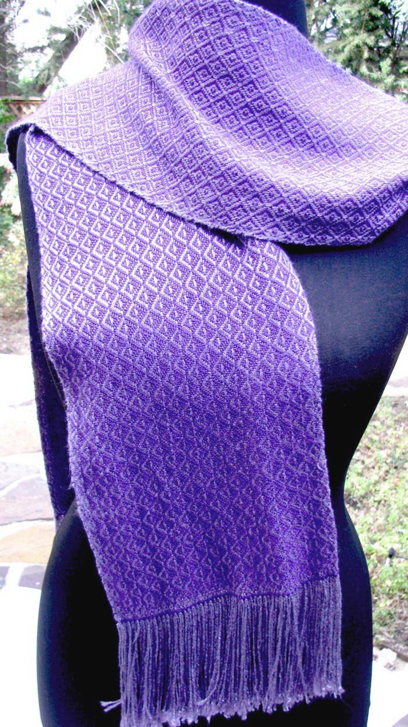Handwoven Bamboo Scarf image 0