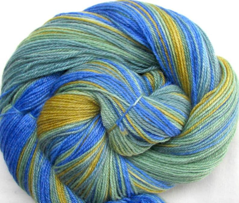 SW Merino/Bamboo Hand Painted Yarn image 0