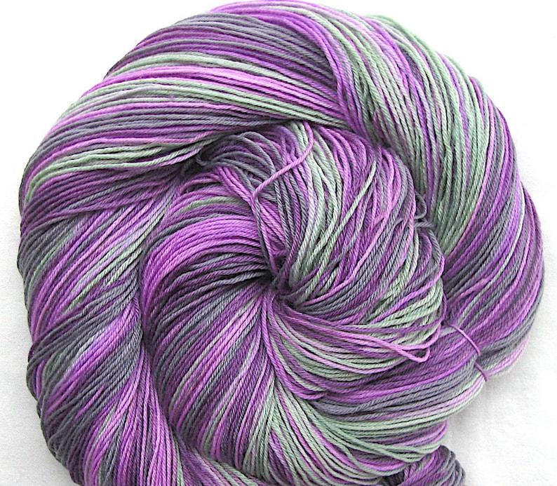 Superfine SW Merino/Nylon Sock Yarn Hand Painted image 0