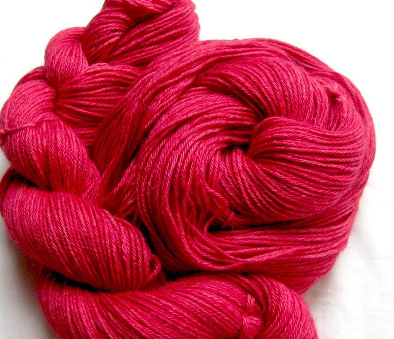 Superfine Alpaca/Silk Sport Weight Yarn Hand Painted image 0