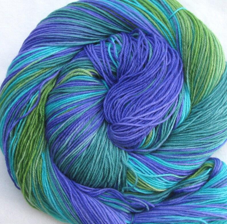 Superfine SW Merino Hand Painted Yarn image 0
