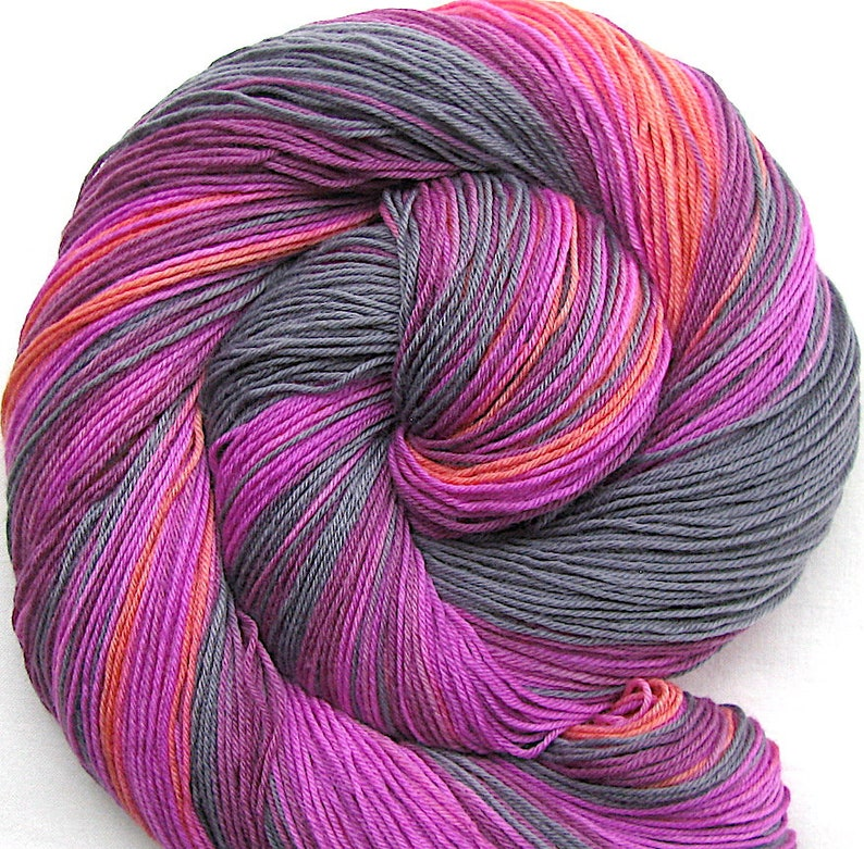 Superfine SW Merino/Nylon Sock Yarn Hand Painted image 0