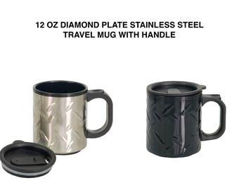 Travel Mug With Handle Etsy