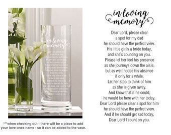 personalized vase etsy