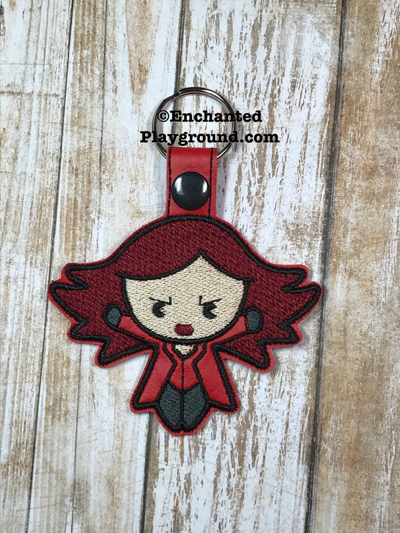 Scarlet Witch Chibi key fob image 0