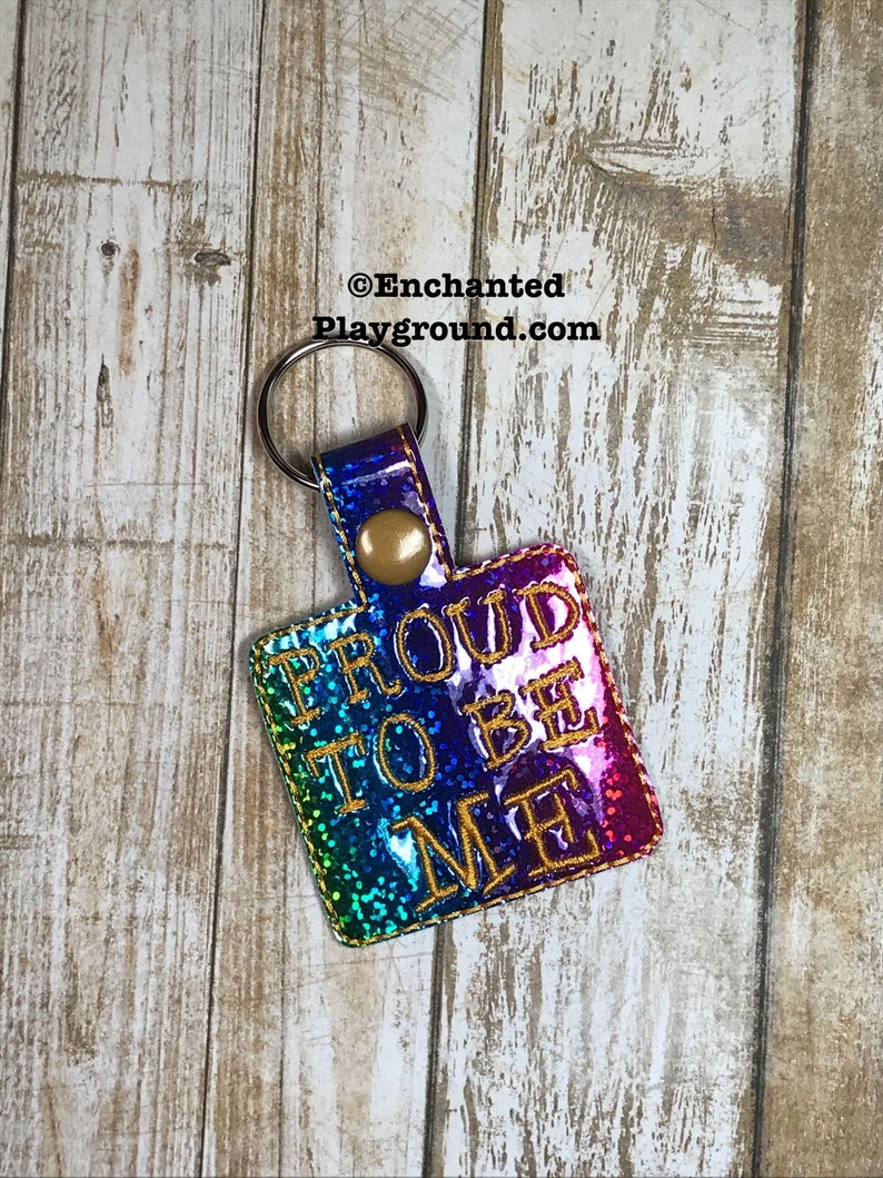 Proud To Be Me key fob image 0