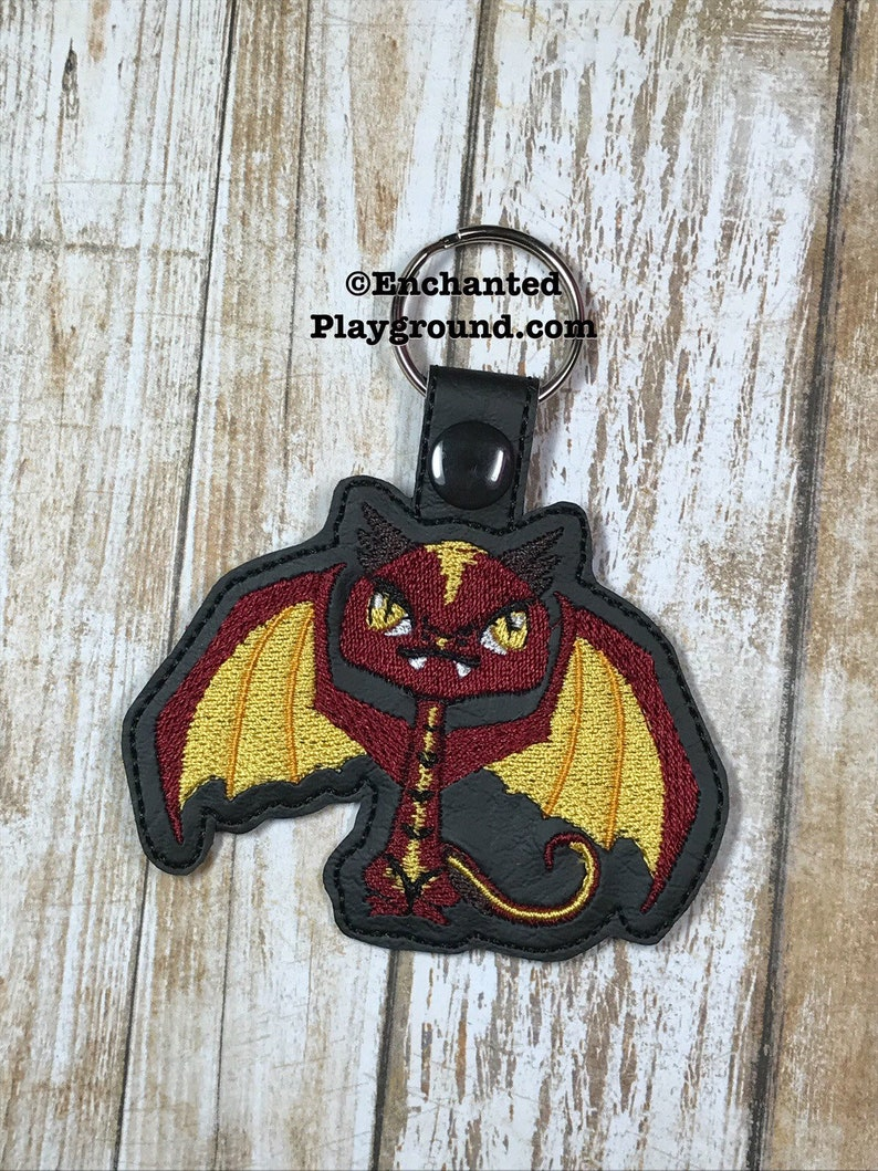 Tolkien Cutie Smaug key fob image 0