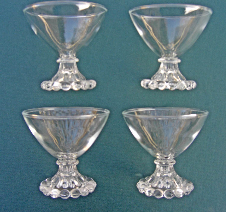 Anchor hocking vintage style glassware set