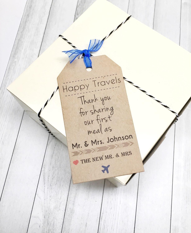 Digital Travel Wedding Gift Tag Cards Bridal Shower Thank