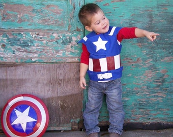 Superhero Costume Vest  / Advengers