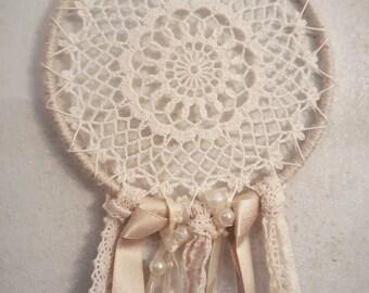 Boho - Gypsy Crochet Doily Dreamcatcher