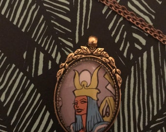 Items Similar To The High Priestess Necklace On Etsy