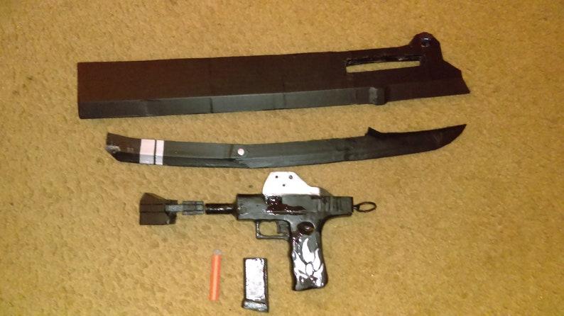 cosplay gun cosplay sword Larp sword RWBY Gambol Shroud sword gun anime prop cosplay prop anime gun sword prop