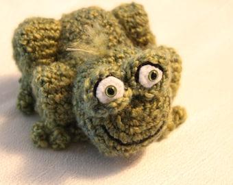 Amigurumi Crochet Pattern - Green Frog