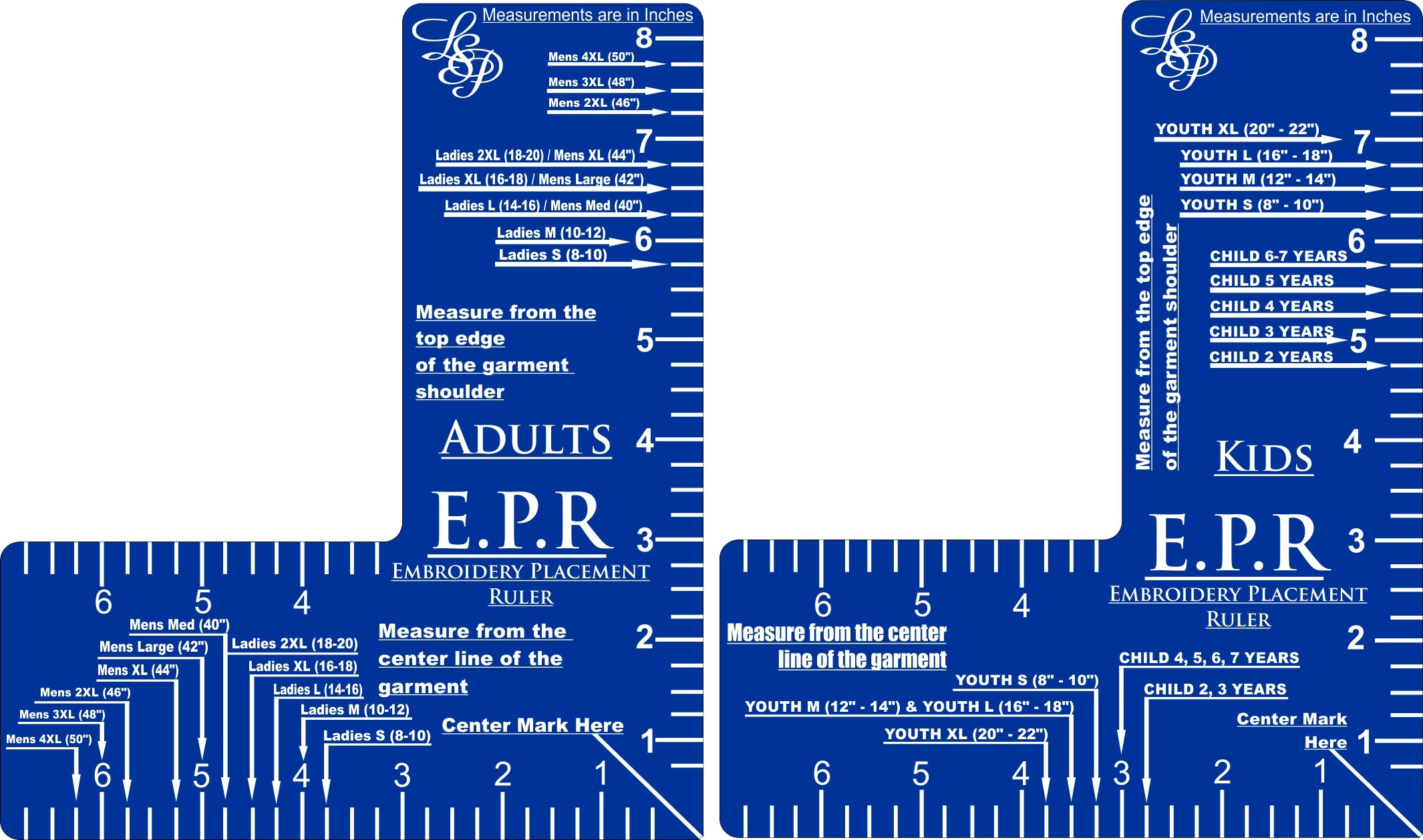 Embroider Placement Ruler Etsy