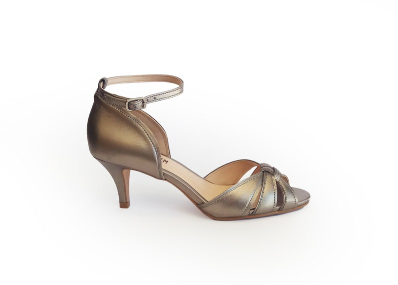 01ef41394a6 Silver metallic heels, Wedding shoes Comfortable, Wedding shoes heels,  Wedding sandals, Summer heels, Ankle strap shoes, Leather heels