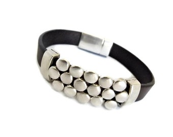 leather bracelet / bracelet / leather jewelry / boho bracelet / couples bracelets / K1889