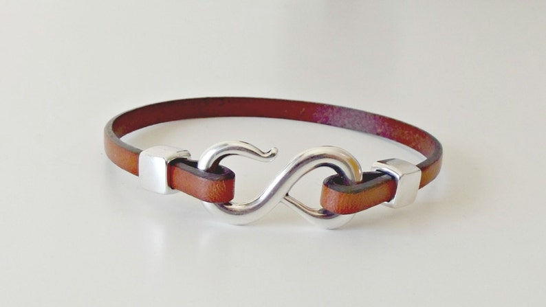 bracelet homme Infinity leather bracelet infinity jewelry leather jewelry infinity bracelet leather bracelet K1883 wife gift