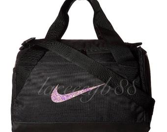 Bling Swarovski Nike Duffel Bag-Black 67627e857eb91