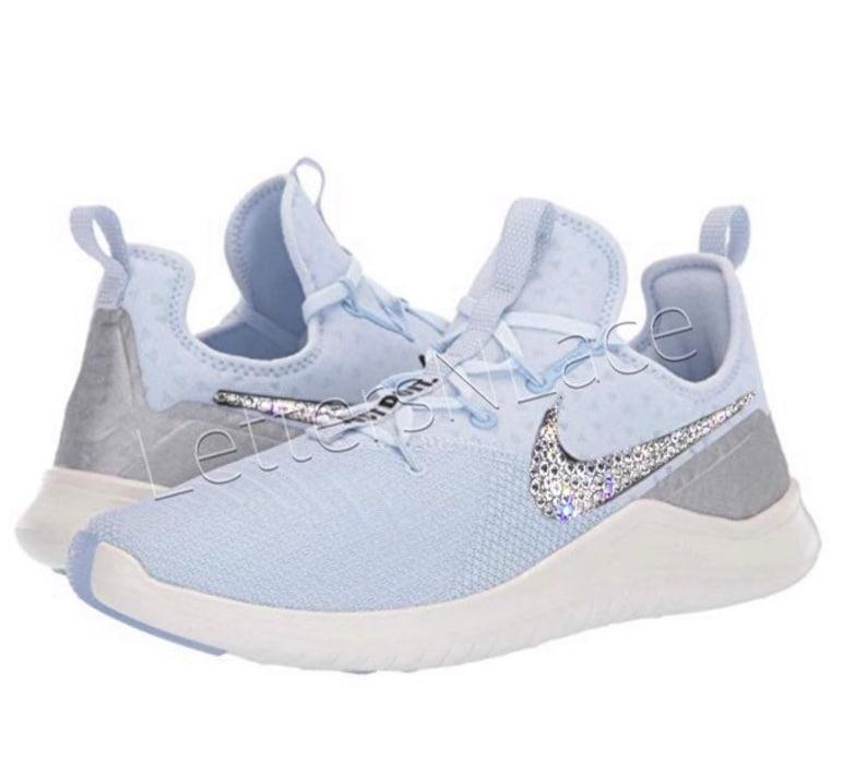 80df0c7455cb Bling Swarovski Nike Free TR 8 MetallicBling NikeNike