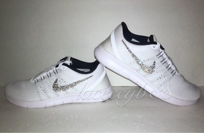 c6cffc5974676 Bling Swarovski Nike Free RN,Bling Nike,Bling Nike Free-White,Bling Nike  Shoes,Bling Nikes,Bling Running Shoes,Bling Shoes,Bling