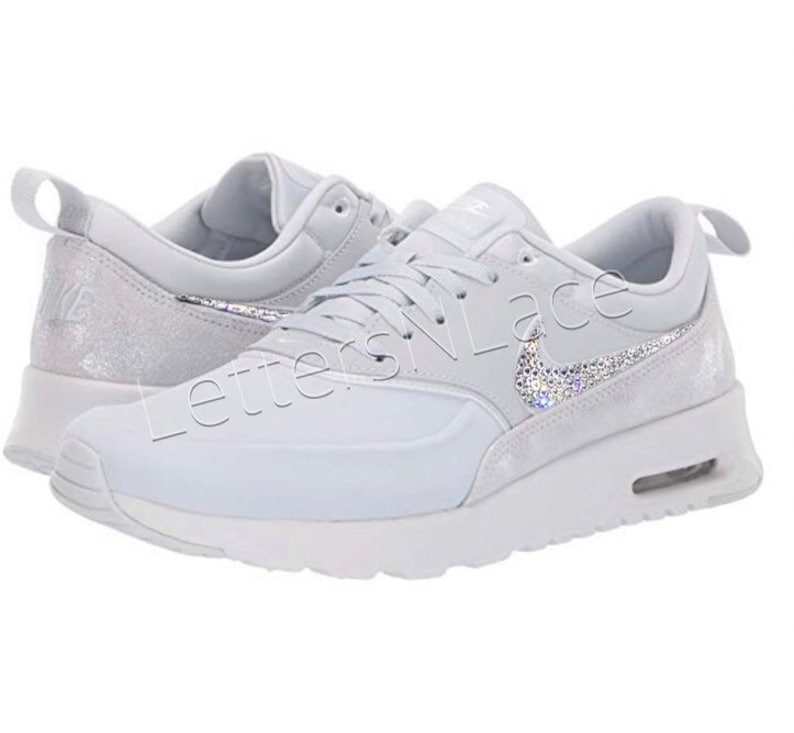 purchase cheap 5ea05 03832 Bling Swarovski Nike Air Max Thea Bling NikeBling ShoesNike   Etsy