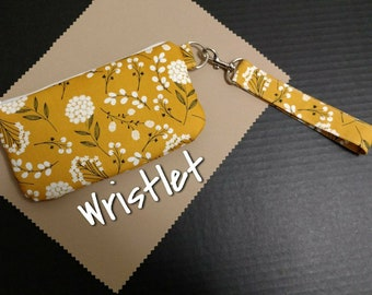 Wristlet Golden Yellow