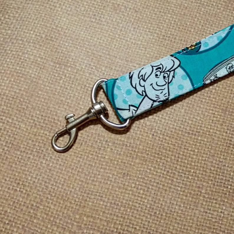 Scooby Doo Key Fob with Hook Clip