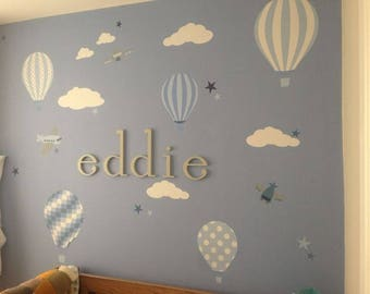 nursery wall letters etsy