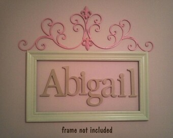8 INCH unfinished wooden letters-wooden wall letters- nursery letters- hanging letters- any FONTS