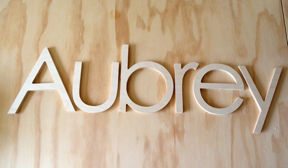 10 Inch Unfinished Wooden Letters Wooden Wall Letters Nursery Letters Hanging Letters Any Fonts