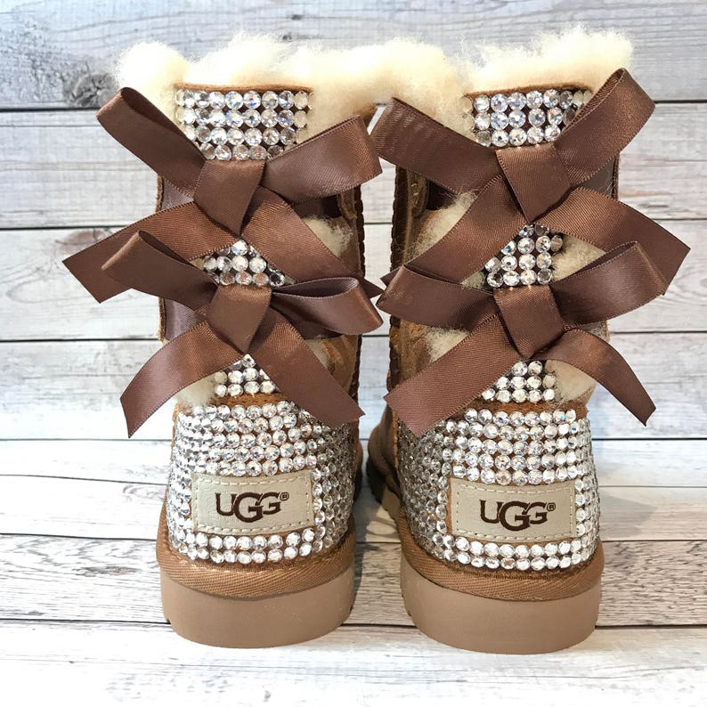 KIDS bling bailey bow ugg boots FREE SHIPPING girls image 0