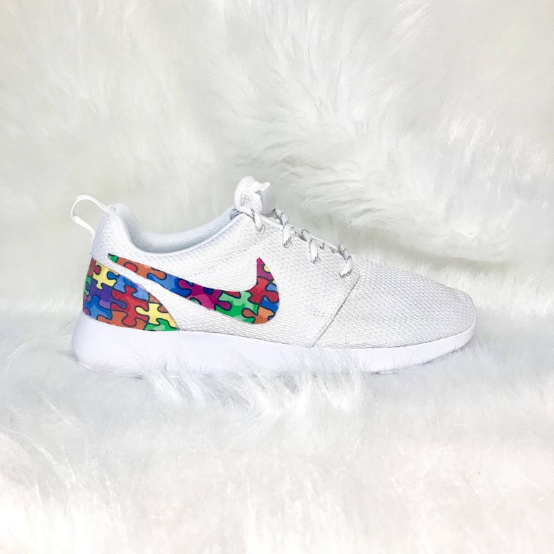 c0f292d8f421 Autism awareness shoes autism speaks nike shoes bling nike shoes
