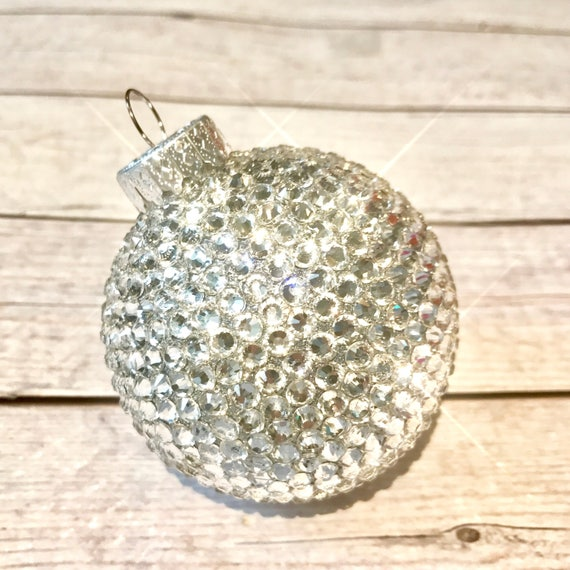 Crystal Christmas Ornaments.Bling Christmas Ornament Crystal Ornaments Stocking Stuffers Bling Shatterproof Christmas Decorations One Of A Kind