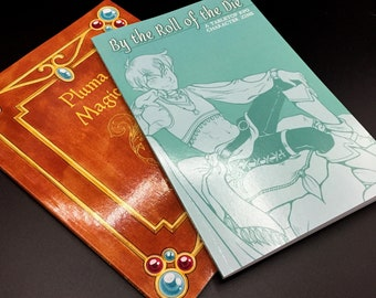 Artbook Zine 2 Pack - Pluma Magica & By the Roll of the Die