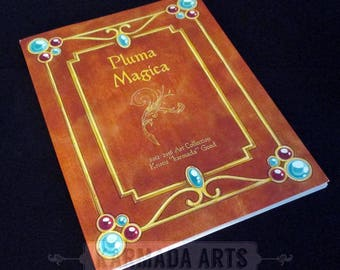 Pluma Magica Artbook - Artwork Anthology by Karmada Arts (2012-2016)