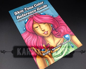 Skin Tone Color Reference Guide for Markers
