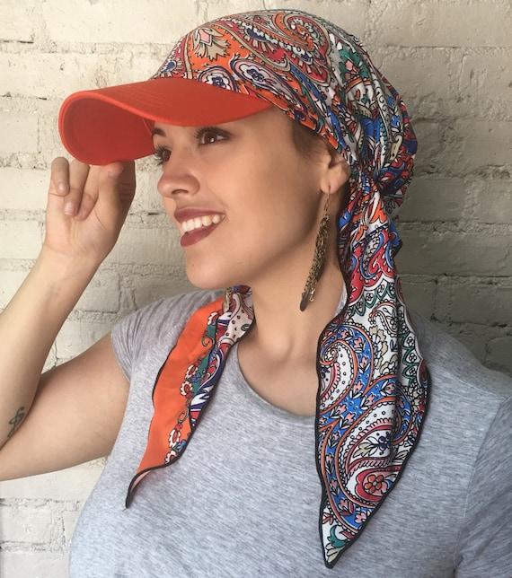 Sun Visor Scarf Headwear Hijab Headcovering Islam Gift Cancer  36165f36edc