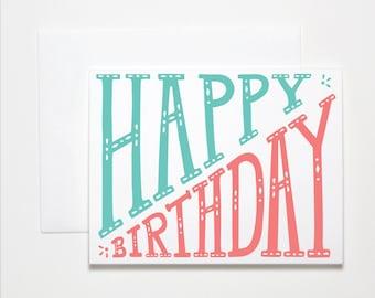 Happy Birthday Card- Birthday Stretch