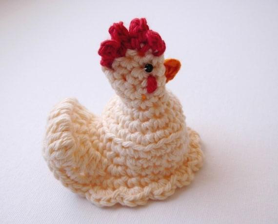 Crochet Egg Warmer Pdf Pattern Dyi Hen Chicken Pattern Easter Etsy