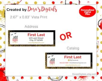 Vista Print Card Etsy